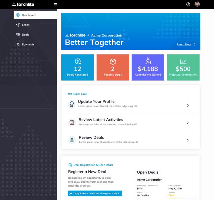 Torchlite Partner Engagement Platform Launch